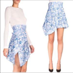 Carven Underwater Fantasy Asymmetrical Skirt 36 4